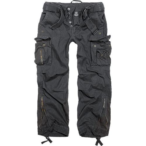 Brandit Royal Vintage Trouser S-7XL alle Farben uni tarn Premium Cargo Hose Army
