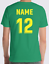 miniature 12 - Personalised Printed KIDS Football Style T-Shirt Boys Girls Tee Top