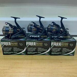 3-x-NEW-FREE-CARP-60-LINEAEFFE-CARP-FISHING-REELS-LINE-3BB-FREE-RUNNER-REEL