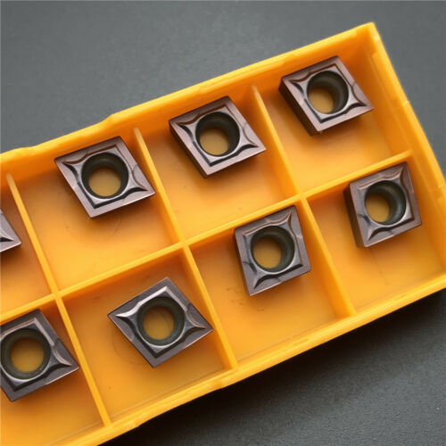 10PCS CCMT09T304 VP15TF CCMT32.51 carbide insert lathe Turning inserts CNC TOOL