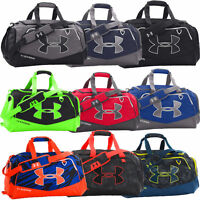 Under Armour UA Undeniable II Medium Duffle Bag Hi Vis, Black Duffel Gym Bag