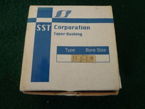 "Pulley Split Taper For Keyed Shaft SST 1-1//8/"" Bore H style Steel Sheave"