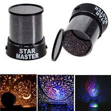 Romantic LED Starry Night Sky Projector Lamp Xmas Gift Star light Cosmos Master