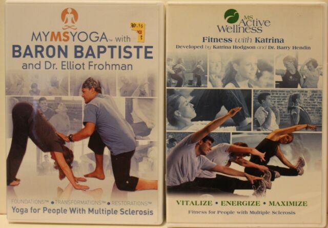 2 My Ms Yoga for people with multiple sclerosis workout exercise fitness  DVD set