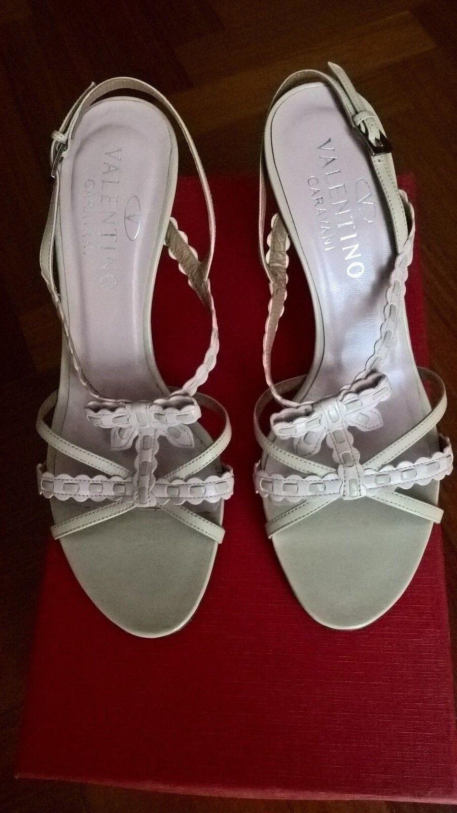 Sandali Valentino cm tg. 37 tacco 8,5 cm Valentino nuovi con scatola af7e88