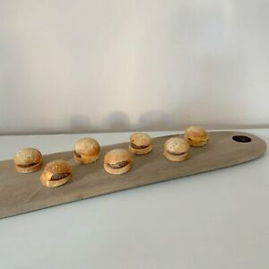 Massive Artisan Cutting Board Platter Cheese Serving Wood Food Morocco Handcraft
