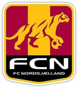 "FC Nordsjaelland FC Denmark Football Soccer Car Bumper Sticker Decal 4/""X5/"""