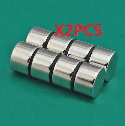 2Pcs Strong N50 Neodymium Magnets Rare-Earth Round Disc Fridge Craft 15X10mm \