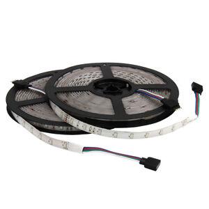 2Pcs-5M-300Leds-RGB-SMD-3528-Waterproof-12V-LED-Strip-Light-Tape-Rope-Lamp