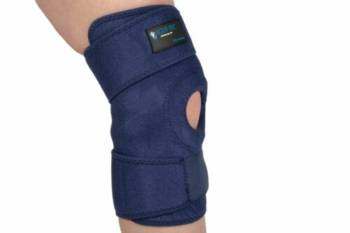 Blue Bodytec wellbeing Wrap around neoprene knee support brace