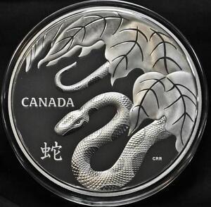 2013-Canada-250-One-Kilogram-Fine-Silver-Coin-Snake