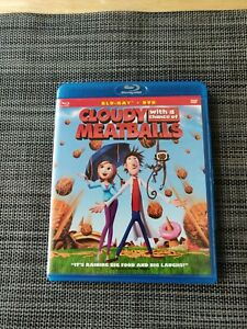 Cloudy With A Chance Of Meatballs (Blue-ray + DVD)