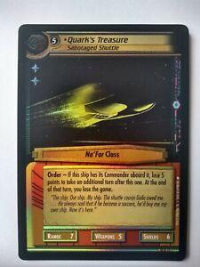 Star Trek CCG 2e M//NM 5 Card Foil Lot 6P Promo Lot