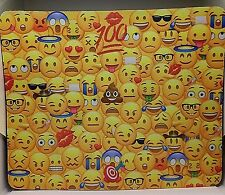 """Neoprene 1/4"""" Thick Durable Computer Mouse Mat Pad Emoji Pattern .Free Shipping"""