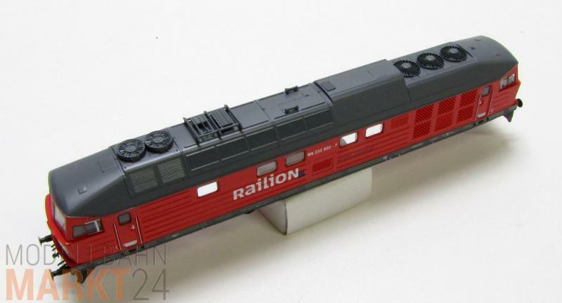 Chassis di ricambio 232 9027 ad esempio per Roco Railion NL DIESEL BR 232 TTNUOVO