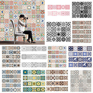 Self-Adhesive-Tile-Vinyl-Wall-Decal-Sticker-DIY-Kitchen-Home-Room-Art-Decoration
