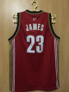 hot sale online 8d073 ca0ff Details about NBA CLEVELAND CAVALIERS BASKETBALL SHIRT JERSEY CHAMPION  LEBRON JAMES #23