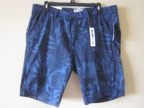 Pantaloncini Tropical dritti Nwt di da Foilage William uomo Navy fit corti Rast slim Peony rq7X0rH