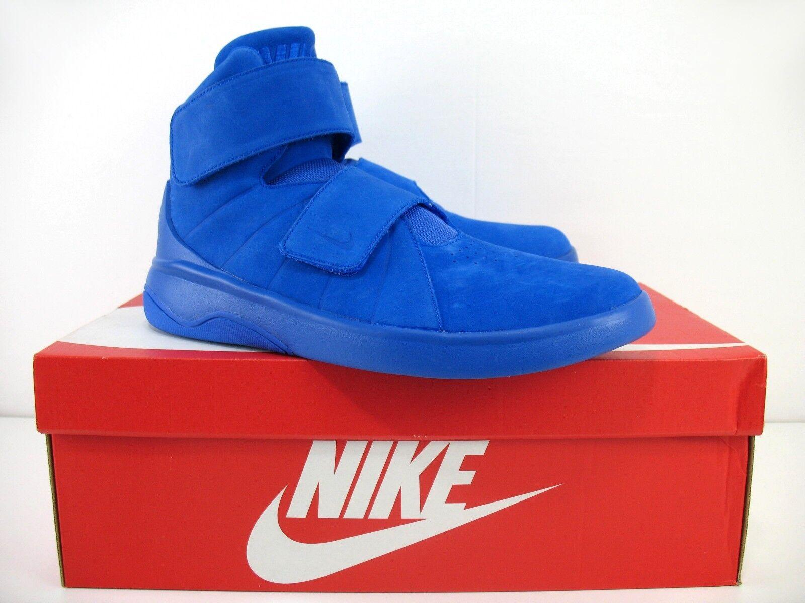 Nike Marxman Premium PRM Racer Blue Hi Tops With Box - 832766-400 - Sz 10.5 New