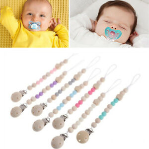 20pcs Colored Plastic Baby Dummy Clips Pacifier Soothers Toys Holder DIY