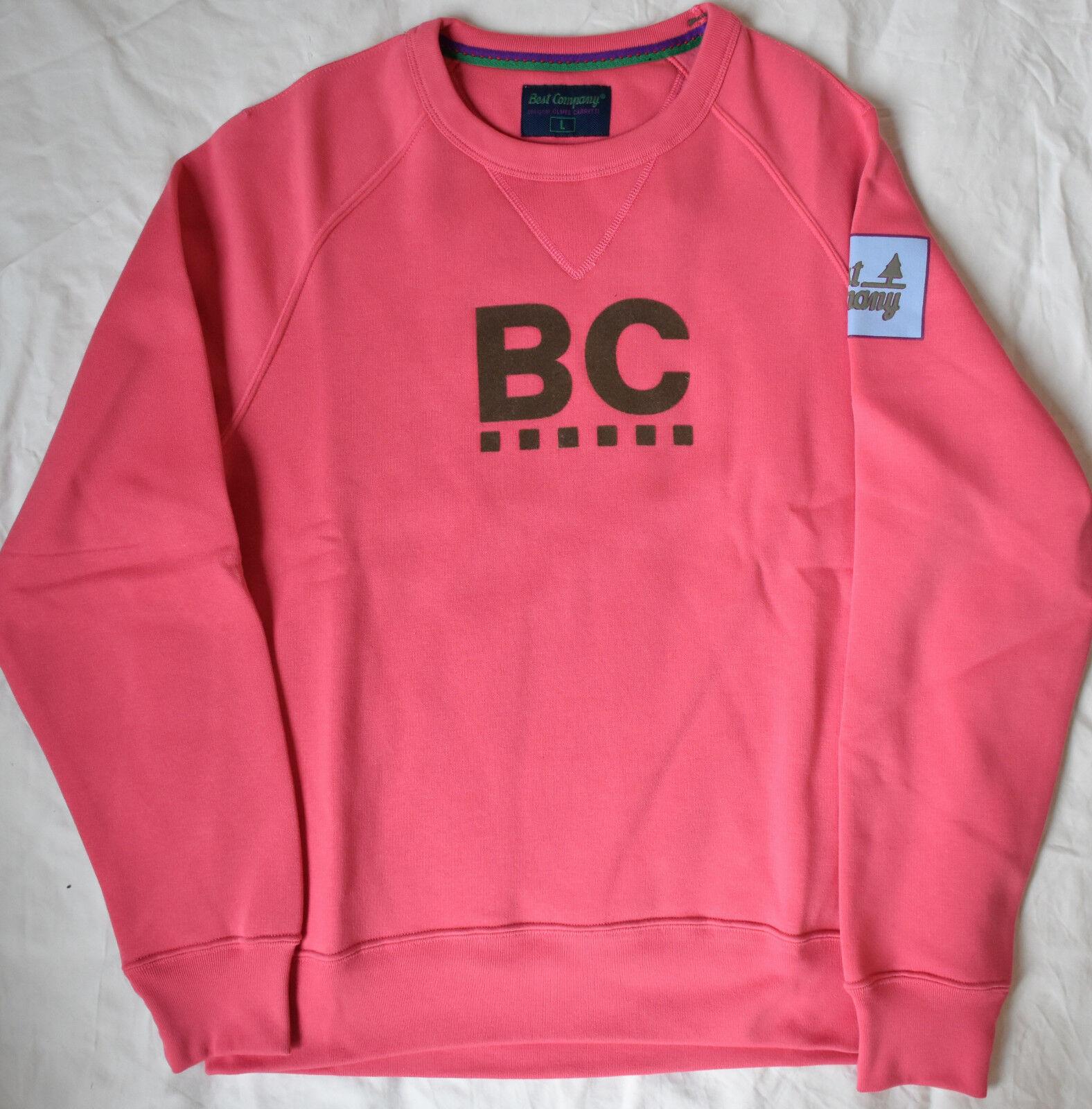Best Company 1982 Felpa Girocollo Raglan 692006 in pink Various Sizes