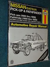 1980-1996 NISSAN DATSUN TRUCK PATH FINDER SHOP MANUAL 95 94 93 92 91 90 89 BOOK