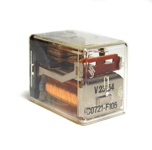 24V Silber // Gold Kontakt Siemens Kamm Relais V23154-C0721-F105 2x EIN NOS