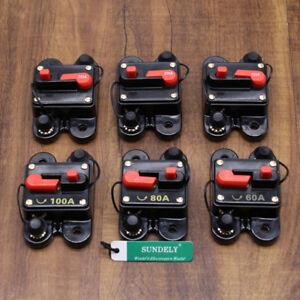 Brand new Car Audio Circuit Breaker Amp Amplifier Auto Fuse 60A-250A 12V-24V DC