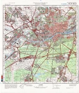 Russian Soviet Military Topographic Maps - FRANKFURT AM MAIN ...
