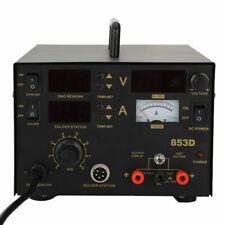 853d 3in1 Soldering Stationhot Air Gun Digital Display Solder Iron Smd 110v