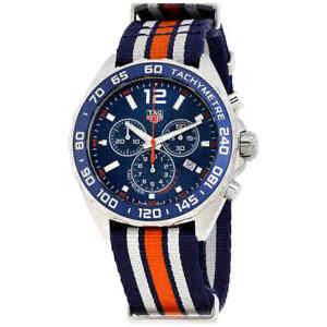Tag-Heuer-Formula-1-Chronograph-Blue-Dial-Men-039-s-Watch-CAZ1014-FC8196