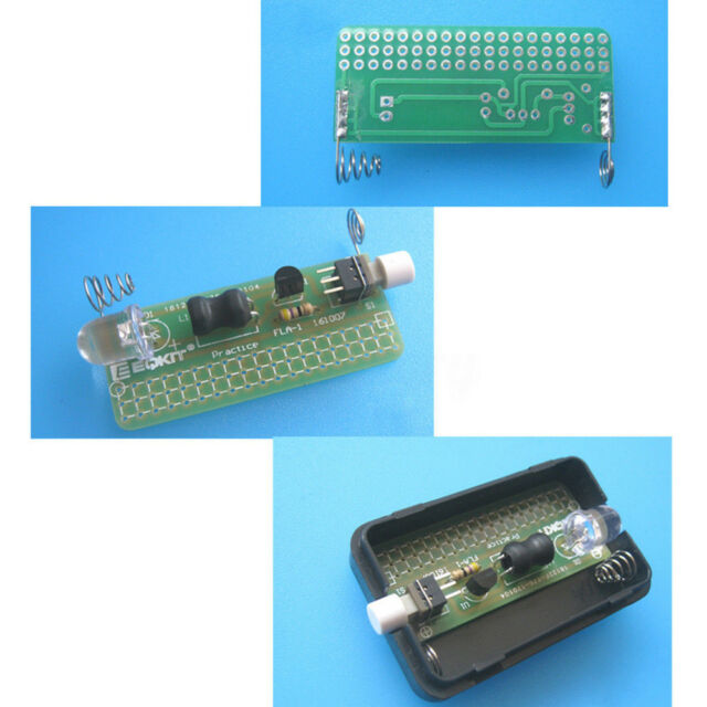 DIY FLA-1 Kits Simple Flashlight 1.5V LED Lamp Soldering Circuit Board A2TS