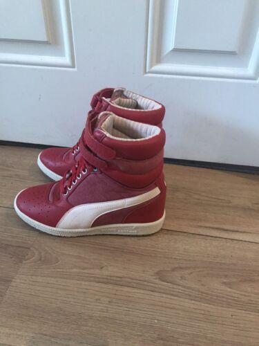 Baskets Puma 5 Montantes Rouge Taille Femme 5 zzr6Tnq