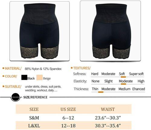 Details about  /Vaslanda Seamless Anti Chafing Slip Shorts for Women Safety Panty Under Dress Be