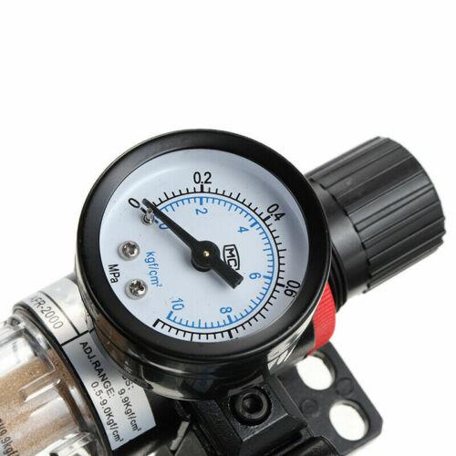 US AFC2000 Air Filter Regulator Oil Water Separator Airbrush Compressor Tool New