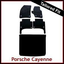 PORSCHE CAYENNE 2003 2004...2009 Tailored Carpet Car and Boot Mats (Round Clip)