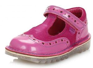 29 24 28 Girls T 30 Bar Shoe Kickers Brogie IF Pink EU Size 22