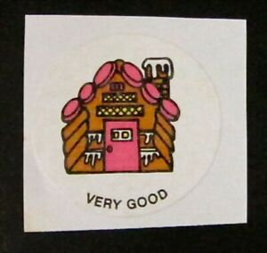 Mint Condition!! Gingerbread Vintage CTP MATTE Scratch /& Sniff Stickers