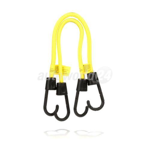 HEYNER 881140 Premium Gepäckspanner 2er Set 40cm gelb