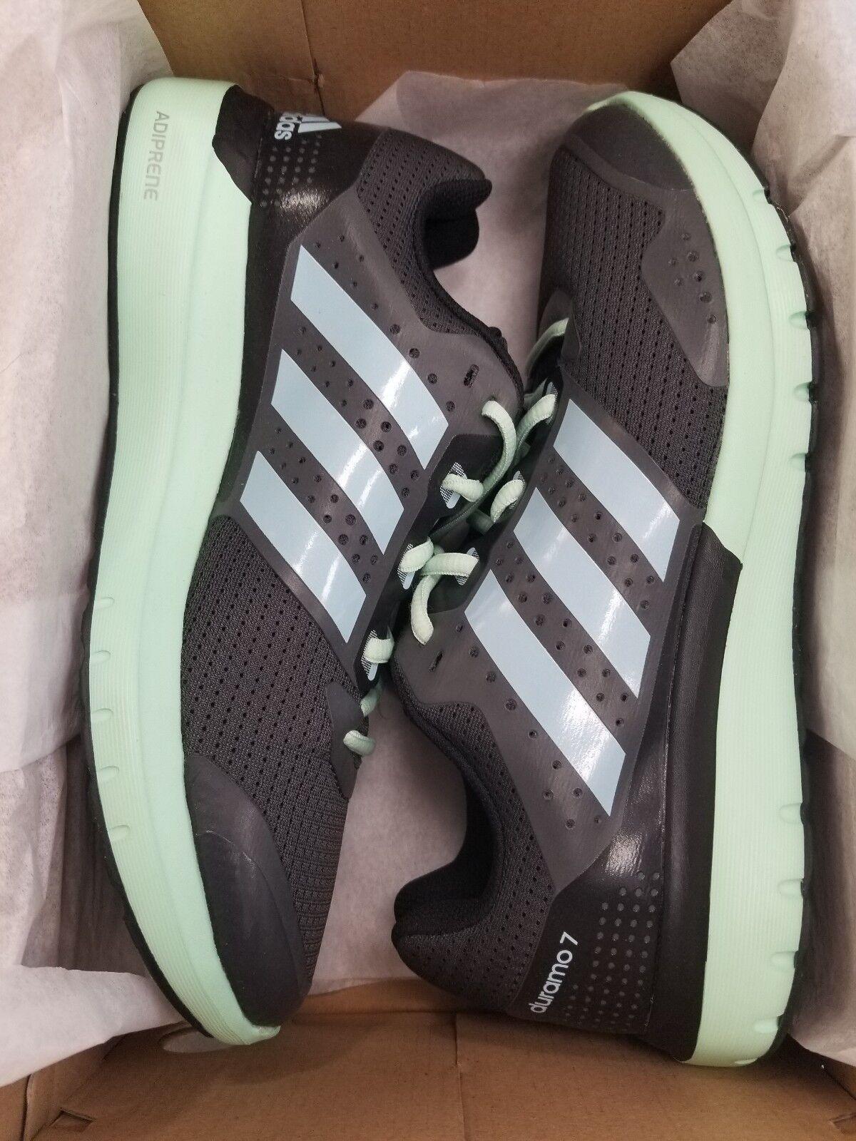 Adidas Women's Women's Women's Duramo 7 W  SIZE  9M  Women's Running shoes, Grey bluee Green, NWB 86ed0c