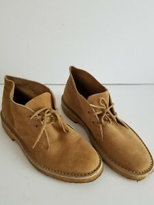 3204146bbf2e Image is loading MENS-SEARS-TAN-SUEDE-ANKLE-BOOTS-7-5-