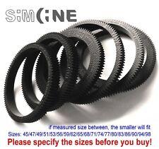 1x Seamless Flexible Follow Focus Gear Ring 45-98mm for DSLR, manual etc. lenses