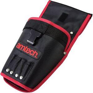 Détails sur Amtech N1250 Heavy Duty Perceuse étui support stockage sac  ceinture outil sac- afficher le titre d'origine