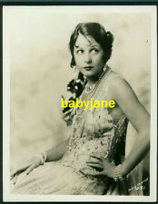 NORMA TALMADGE 8X10 PHOTO BY IRVING CHIDNOFF W/ HER PUBLICIST STAMP ON BACK