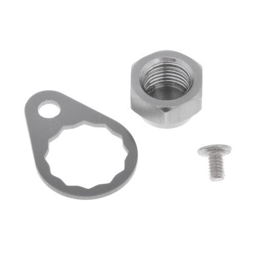 Angelrolle Griff Teile Schraube /& Mutter /& Verriegelungsplatte für