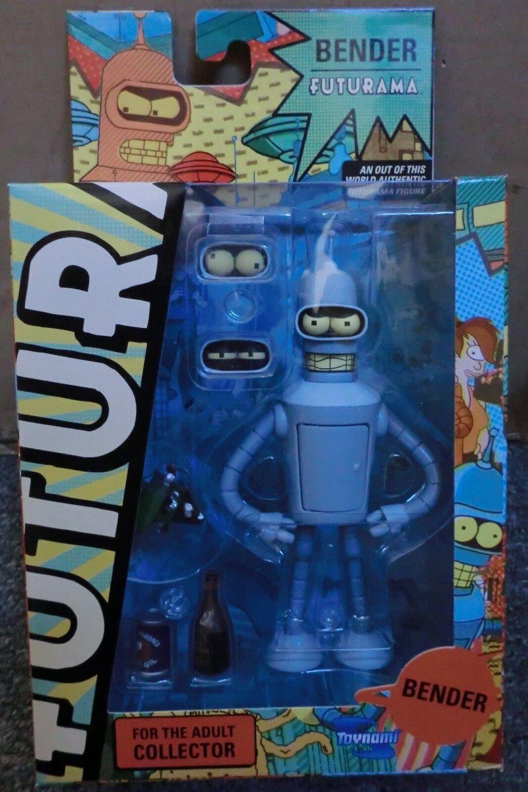Toynami futurama 2011 zugabe roboter bender neue versiegelt