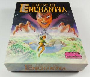 Curse-Of-Enchantia-Commodore-Amiga-Spiel-Big-Box-OVP-VGC-CIB-Deutsch-Collectible