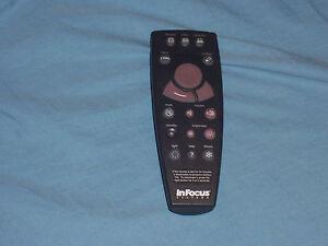 InFocus-590-0198-XX-Projector-Remote-Control
