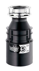 Insinkerator Badger 5 1 2hp Food Waste Garbage Disposer
