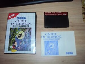 Castle Of Illusion Starring Mickey Mouse SEGA Master System Complet
